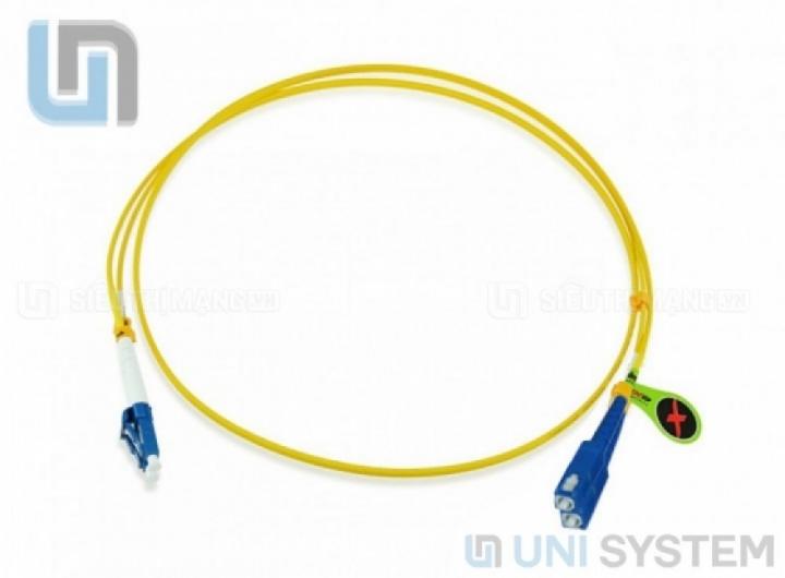 Dây nhảy quang Singlemode SC LC, dây nhảy quang SC LC Singlemode, dây nhảy quang sc lc, dây nhảy sc lc singlemode, dây nhảy sc lc, dây nhảy quang SM SC LC