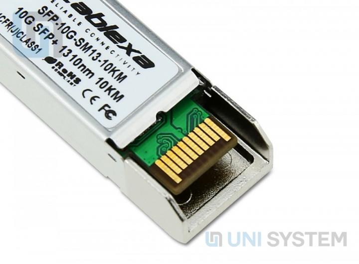 Module CABLEXA SFP+, 10GB/S, 10GBASE-LR, SMF, 1310NM, DUPLEX LC, 10KM TRANSCEIVER MODULE